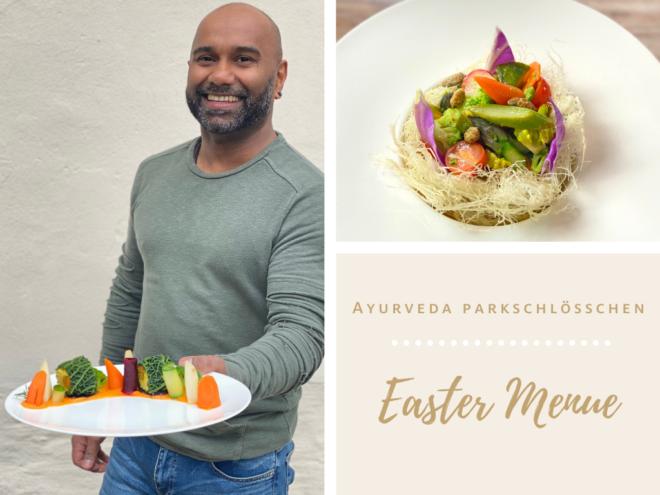 Ayurveda Parkschlösschen Easter Menue | Ayurveda Recipes